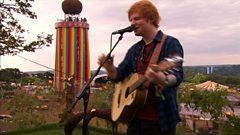 Ed Sheeran - Thinking Out Loud - Glastonbury 2014