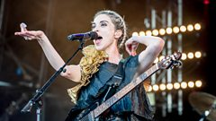 St Vincent on the Park stage