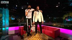 Kasabian talk to Huw and Gemma at Glastonbury 2014