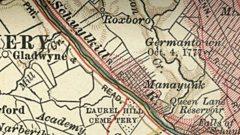 A Welsh map