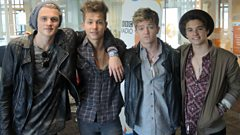The Vamps visit The Big Show