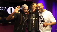 Tarrus Riley & Alaine chat with Seani