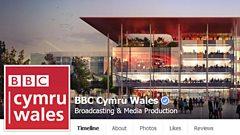 BBC Cymru Wales' Facebook account