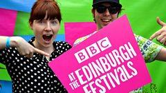 The BBC at the Edinburgh festivals logo