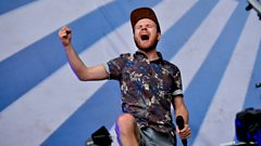 Enter Shikari perform on the Main Stage at Reading 2014