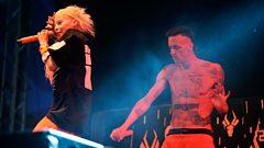Die Antwoord on the R1 / NME Stage