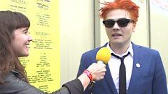 Gerard Way chats to Jen Long