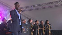 O Happy Day performed by Jermain Jackman at CBBC Live in Newcastle/Gateshead