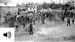 NI parade during World War One