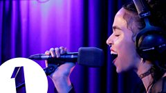 FKA twigs covers Sam Smith's Stay With Me in the Live Lounge