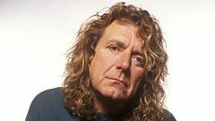Robert Plant in session for Lauren Laverne