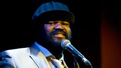 Gregory Porter live from backstage at Radio 2 in Hyde Park