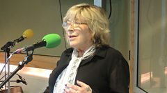 Marianne Faithfull performing on Weekend Wogan