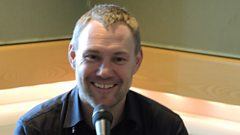 David Gray in session