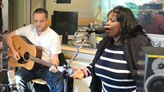 Ruby Turner performs live for Madeley on Sunday