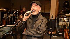 Neil Diamond in session for Ken Bruce