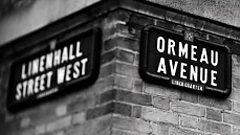 Ormeau Road sign