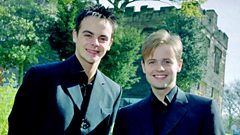 Ant and Dec in 2000