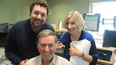 Michael Ball and Victoria Wood chat to Sir Terry
