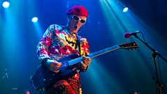 Captain Sensible in conversation with Johnnie Walker