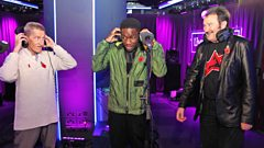 Chuckle Brothers and Tinchy Stryder in the Live Lounge