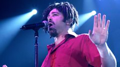 Counting Crows play live for Chris Evans