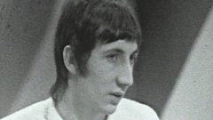 Brian Matthew and Pete Townshend