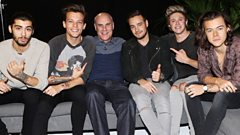 One Direction on Steve Wright in the Afternoon