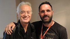 Jimmy Page chats to Shaun Keaveny