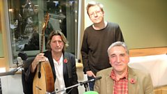 Jim Carter and Steve Knightley speak to Simon Mayo