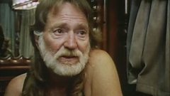 Willie Nelson talks to Kinky Friedman on his tour bus