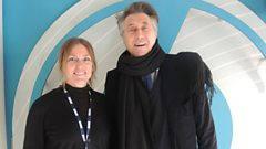 Mr Bryan Ferry brings style and new sounds to our studio