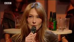Carla Bruni Interview on Later