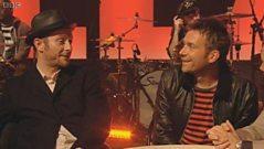 Damon Albarn and Jamie Hewlett talk to Jools Holland about Gorillaz