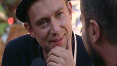Glastonbury 2009 - Zane Lowe talks to Blur.
