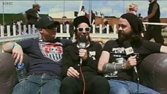 Dan and Mike 'interview' Liam from the Cancer Bats