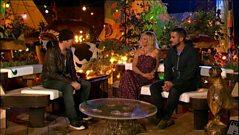 The Edge talks to Jo Whiley and Zane Lowe at Glastonbury 2010