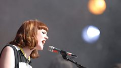 Kate Nash on playing Glastonbury Festival in 2007