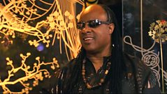 Glastonbury 2010 - Stevie Wonder interview