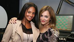 LIVE CAM: Alesha Dixon joins Fearne. (Part 2)