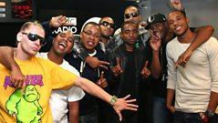 LIVE CAM: Roll Deep go crazy for their No.1
