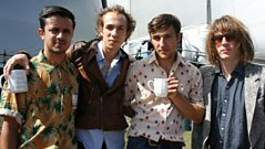 Radio 1 - 'Reading Presents' - Mystery Jets