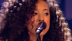 Corinne Bailey Rae performs live at the 2010 Mercury Prize