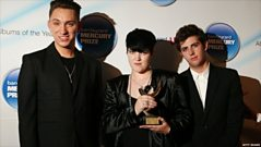 The XX at Mercury Prize with Lamacq