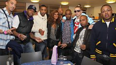 Roll Deep talk to Max at 1Xtra Live 1010