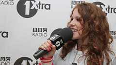 Katy B catches up with Westwood