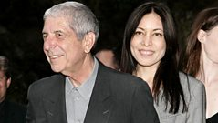 Leonard Cohen talks about writing songs with his partner Anjani Thomas