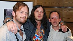 Kings of Leon with Steve Lamacq