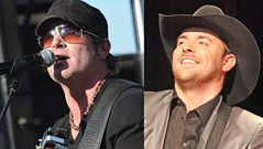 Jerrod Niemann and Chris Young speak to Dale Winton