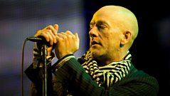 Steve Lamacq interviews Michael Stipe and Peter Buck of REM